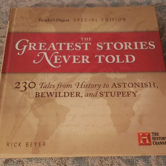 Other - History Channel book